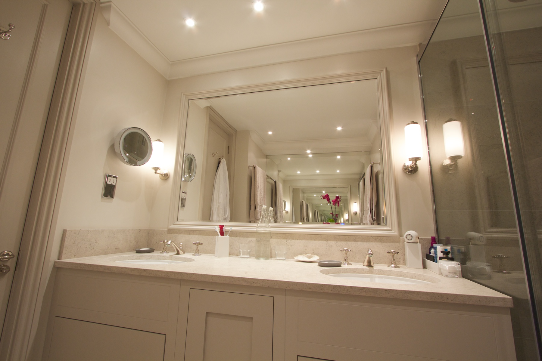 Private flat north london brice design consultants for Bathroom design north london